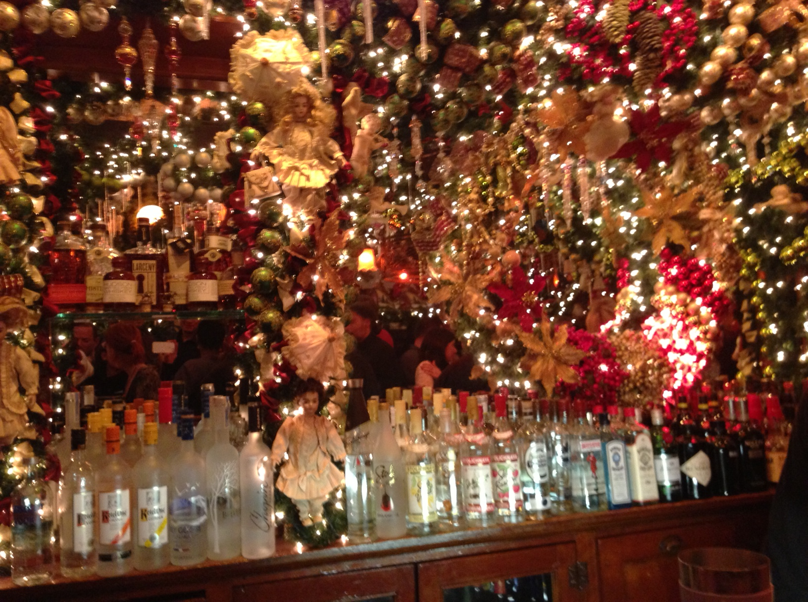 The best spot to feel the Christmas spirit. | Testing NYC