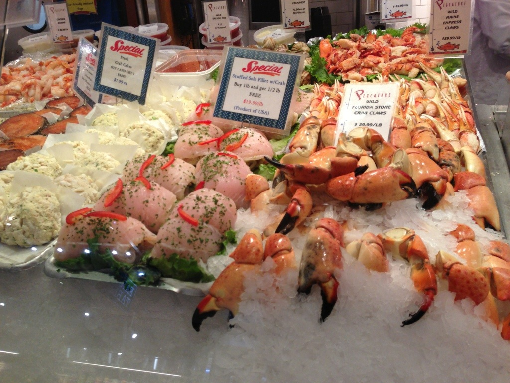 Grand central market testing nyc for Central fish market